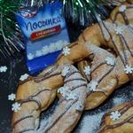 """Заварное кольцо-печенье """"К Рождеству"""""""