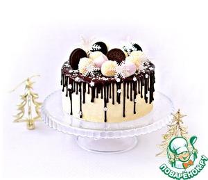"""Рецепт: Муссовый торт """"Рафаэло"""""""
