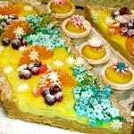 Английский десерт с ванильным пудингом
