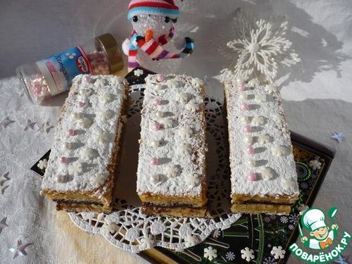 """Пирожное """"Новогоднее наслаждение"""""""
