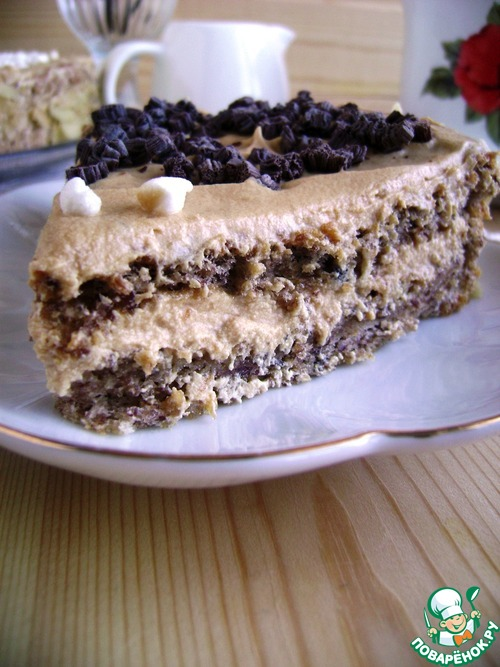 Торт из белой фасоли «Изумительный»