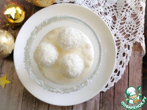 Белоснежный десерт «Снежок»