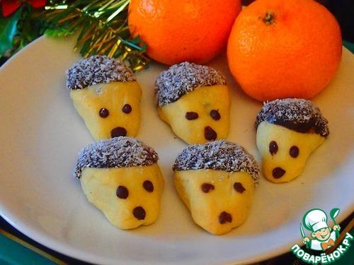 """Рожденственское печенье """"Ёжики"""""""