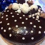Шоколадный торт Зимняя ночь