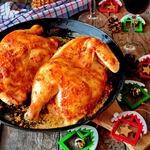 Цыпленок в духовке по-домашнему