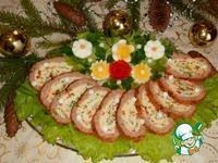 """Закусочный рулет """"Праздничный"""" ингредиенты"""