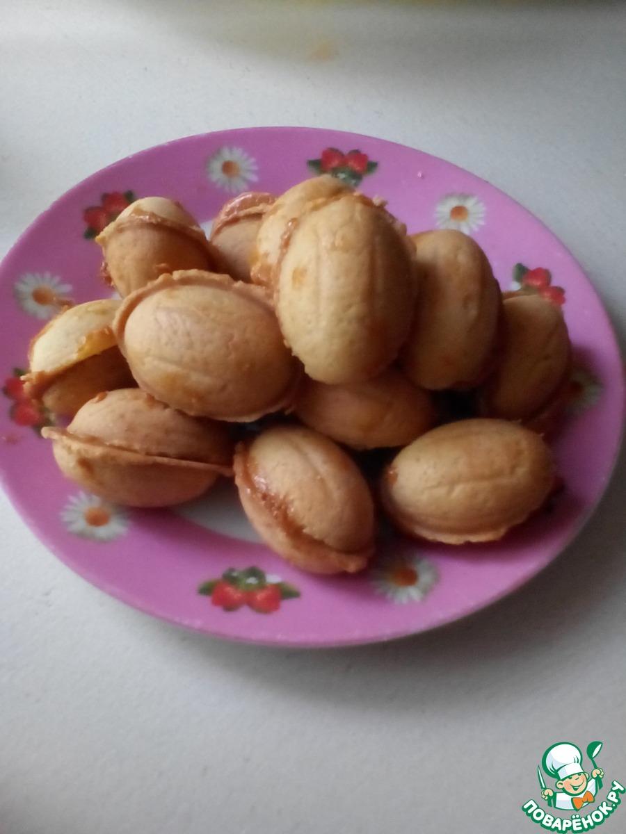 Рецепты орешков и грибочков