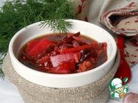 Суп со свеклой и солеными огурцами ингредиенты