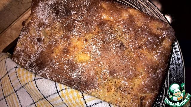 Рецепт пирога с жидким тестом из сметаны