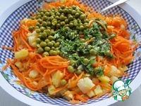 Картофельный салат с корейской морковью ингредиенты