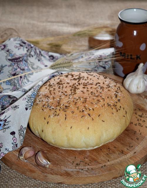 Чесночный хлеб в духовке рецепт с фото