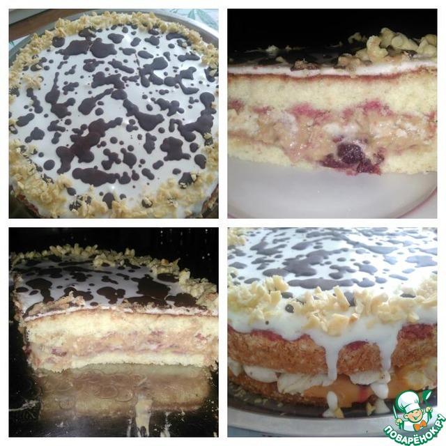 Торт с безе внутри рецепт с пошагово в
