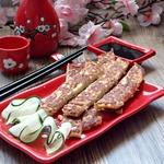 Японские рыбные палочки