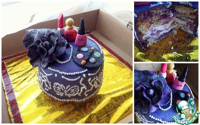 Пошаговые рецепты тортов покрытые мастикой