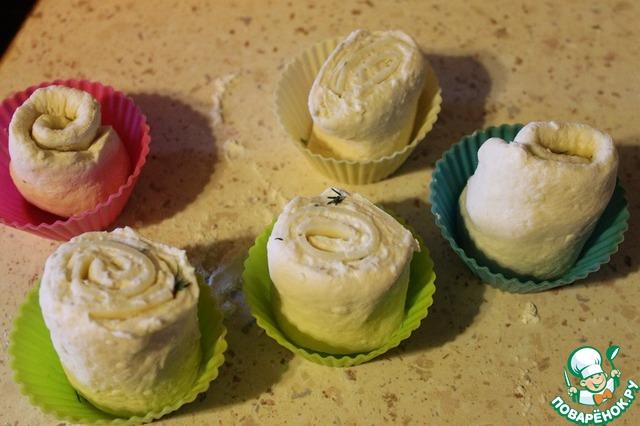 булочки с чесноком в духовке рецепт