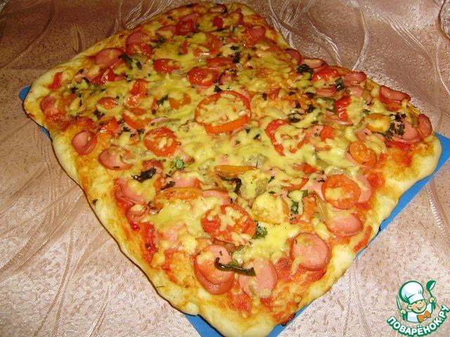 Пиццаы в домашних условиях тесто тонкое