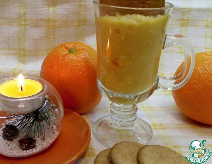Рецепт: Быстрый апельсиновый десерт