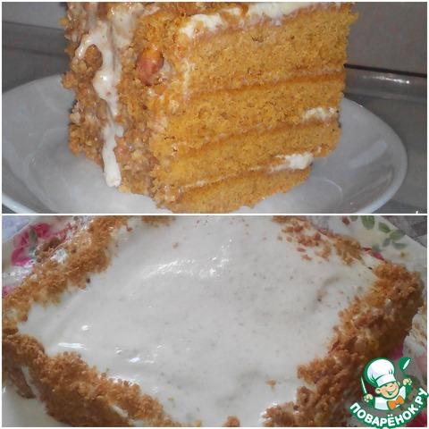 Торт медовик по госту рецепт с пошагово