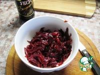 Зимний салат из свеклы ингредиенты