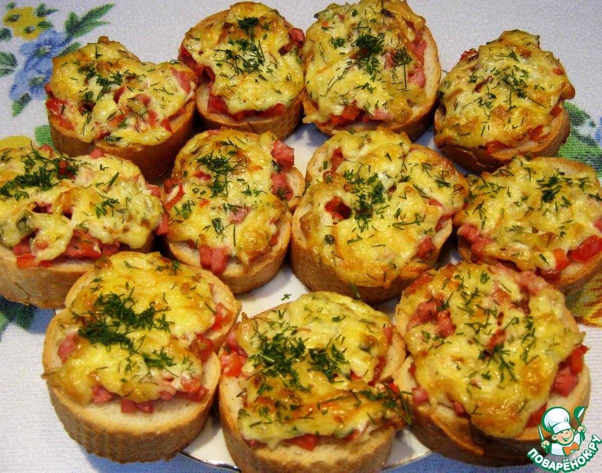 Горячие бутерброды с помидорами в духовке рецепты пошагово