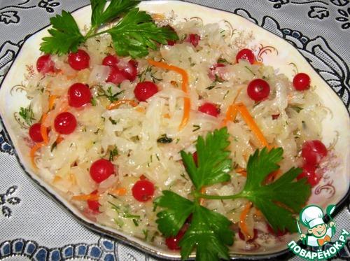 Квашеная капуста сосиской рецепт с фото