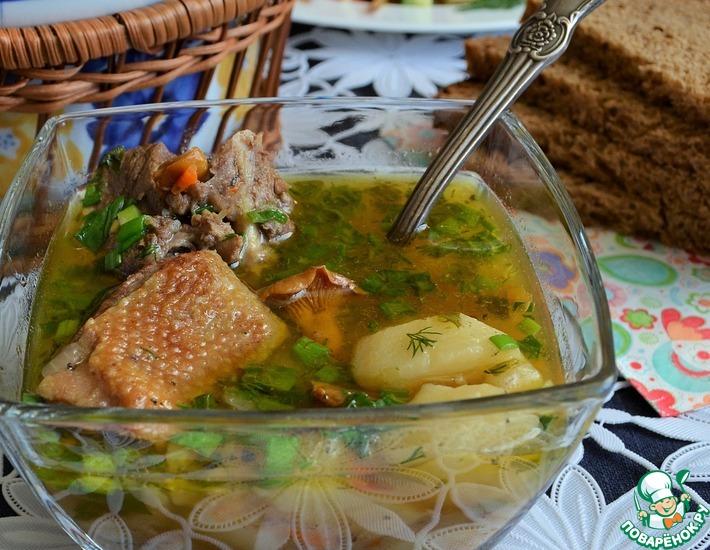 Рецепт: Шурпа из утки Лесная