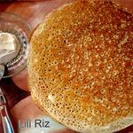 Рисовые дрожжевые блины