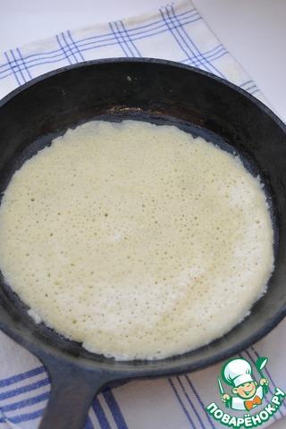 Деревенские картофельные блины - кулинарный рецепт