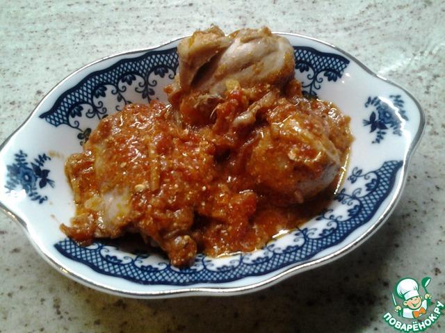 Курица в духовке с лапшой рецепт