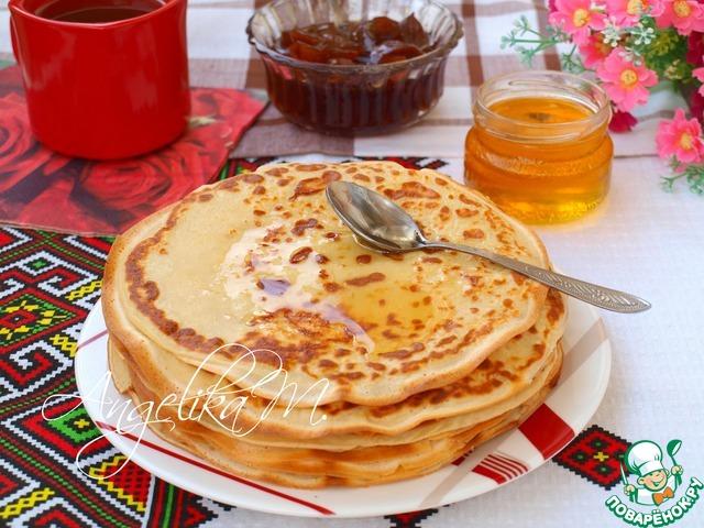 вкусные блины на ряженке рецепт с фото