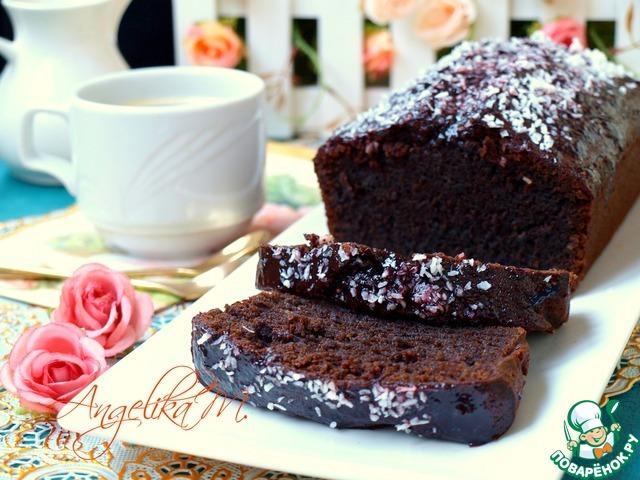 Шоколадный кекс быстро и вкусно