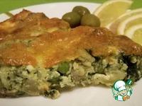 Рыбный тарт со шпинатом ингредиенты