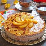 """Блинный торт """"Персиковый"""""""