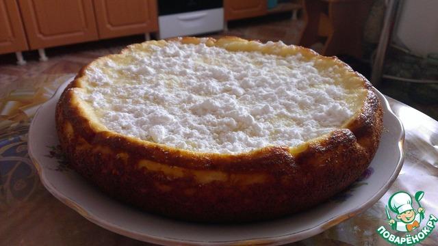 Творожно-манный пирог в мультиварке рецепты