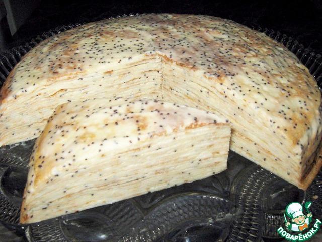 Торт с арбузом и дыней фото 4