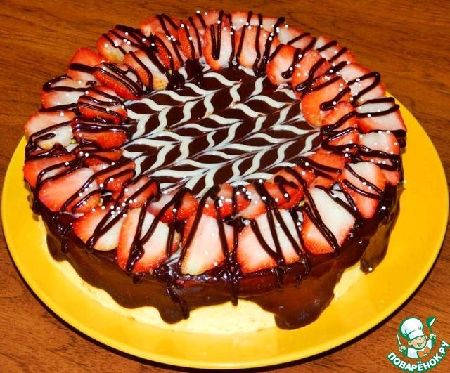 Праздничные торты в домашних условиях с фото 583