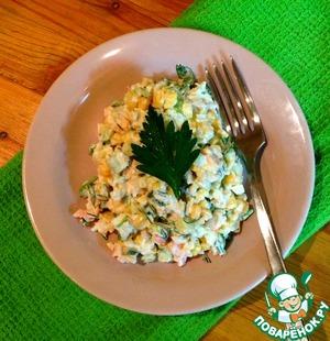 Поваренок салаты с креветками рецепты 170