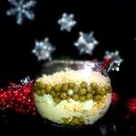 """Салат с языком """"Рождественский"""""""