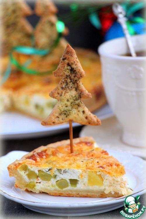 Яблочные пирожки из сырного теста рецепт  с фото