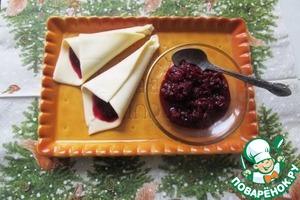 Остро-пряный вишневый соус