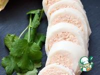 Кальмар, фаршированный сырно-креветочным муссом ингредиенты