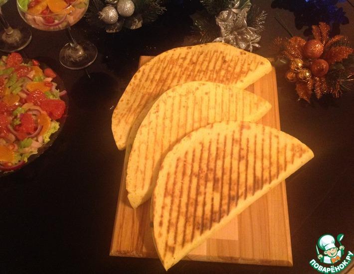 Рецепт: Тортилья с фаршем