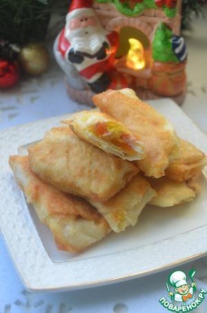 Рецепт: Закусочные трубочки из лаваша
