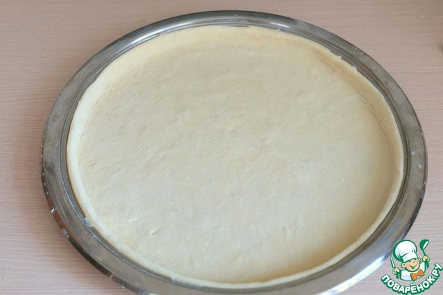 тесто для пирога с капустой жидкое тесто
