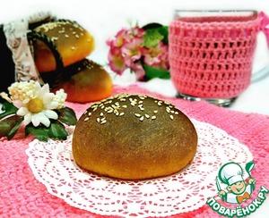 Рецепт: Воздушные тыквенные булочки