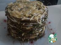 """Печёночный торт """"Печёник"""" ингредиенты"""