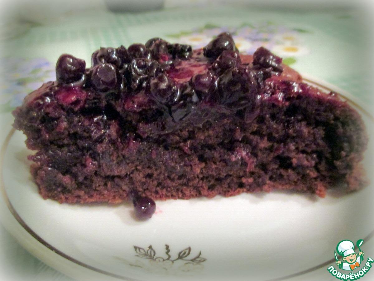 Пирог с вареньем из черной смородины рецепт пошагово