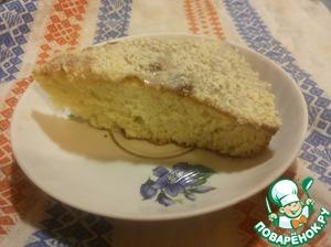 Рецепт: Пирог со сгущёнкой