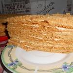 """Медовый торт """"Назад в СССР"""""""