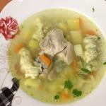 Суп повседневный пикантный с клёцками